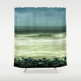 Sea Turmoil Shower Curtain