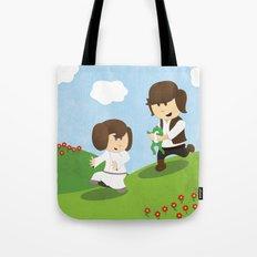 SW Kids - Han Chasing Leia Tote Bag