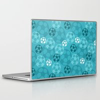 soccer Laptop & iPad Skins featuring Soccer Dreams by Binge Crafter