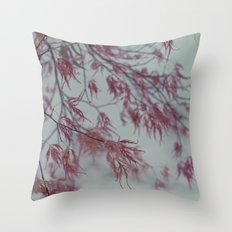 blue/pink Throw Pillow