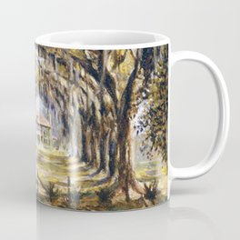 Classical African American Landscape 'Boone Hall Plantation' by Edwin Harleston Coffee Mug