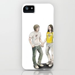 Yoon and Ash iPhone Case