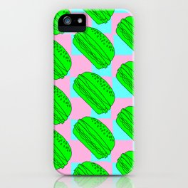 Flying Cheeseburgers iPhone Case