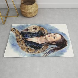 Snake Witch Rug