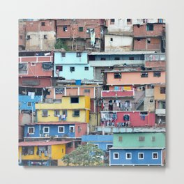 Venezuelan Tetris Metal Print