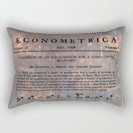 Economics Rectangular Pillow