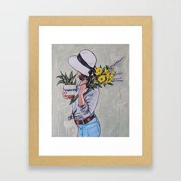 Rosa Framed Art Print