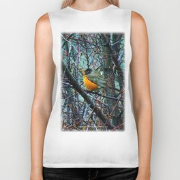 Red Robin - Round Robin - Jeronimo Rubio Photography 2016 (All Over) Biker Tank