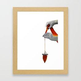 spindle spinning Framed Art Print