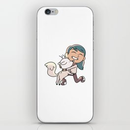 Hilda and Twig iPhone Skin