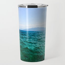 Nafplio Beach Travel Mug
