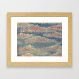 Lady Clouds Framed Art Print
