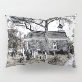 Sleepy Hollow Church Art Pillow Sham