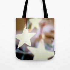 Christmas Stars Tote Bag