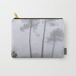 """""""Wonderful trees"""". Into the foggy woods Carry-All Pouch"""