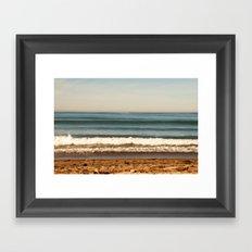 Layer Cake. Beach photograph Framed Art Print