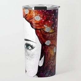 Daisy Head Travel Mug