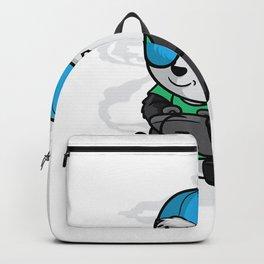 Gaming Panda Shirt Pew Gamer Playing Video Games Tee Backpack