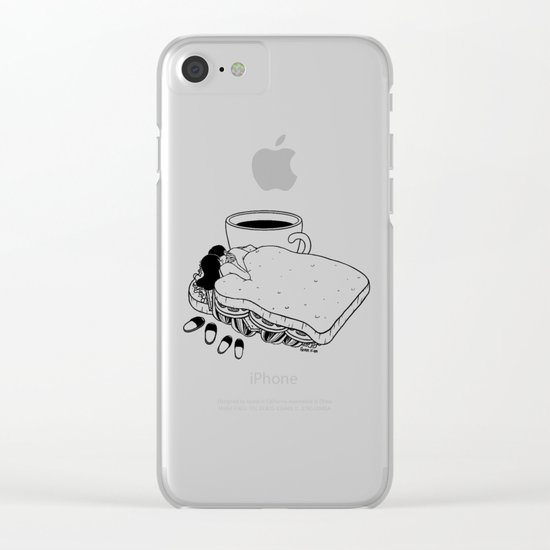 Breakfast Included Clear iPhone Case
