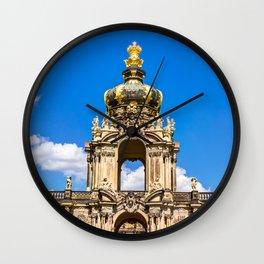 Zwinger in Dresden Wall Clock