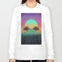 80s Long Sleeve T-shirts featuring 80s love by Mikuloctopus