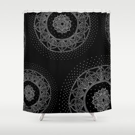 Allowing Shower Curtain