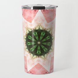 Mandala Star Travel Mug