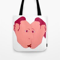 rorschach Tote Bags featuring RORSCHACH by kasi minami