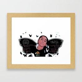 Buttafli Framed Art Print