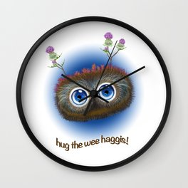 Wee Haggis by day! Wall Clock