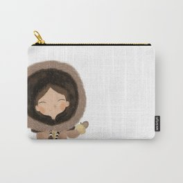 Cute eskimo Carry-All Pouch