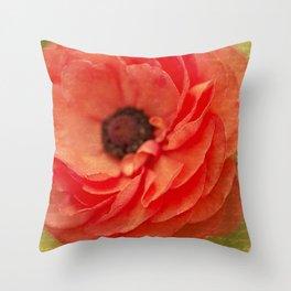 Tecolote Flower Throw Pillow