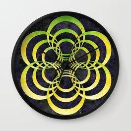 Portalattice Wall Clock