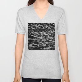 paradigm shift (monochrome series) Unisex V-Neck