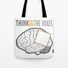 Think Outside the Voxel Tote Bag