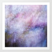 cosmos Art Prints featuring Cosmos by Angela Fanton