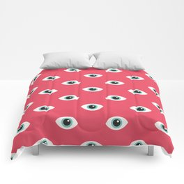 The eyes fall in love Comforters