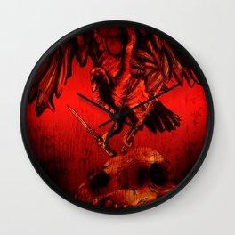 SWITCHBLADE VULTURE Wall Clock
