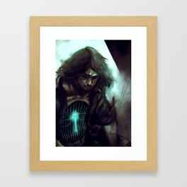 Cage Framed Art Print