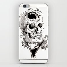 The Laughing Dragon iPhone & iPod Skin