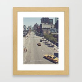 taxi... Framed Art Print