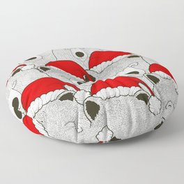 Christmas Bears Floor Pillow