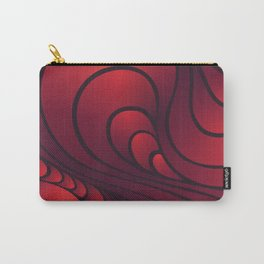 Swirl Sunset Carry-All Pouch