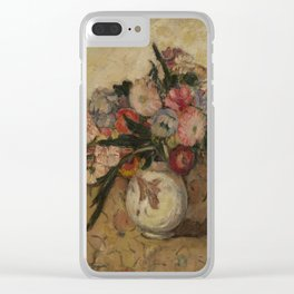 MANEVICH, ABRAHAM (1881-1942) Still Life of Flowers in a Vase Clear iPhone Case