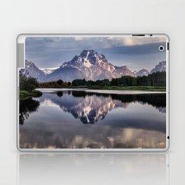 Mt. Moran and the Snake River Laptop & iPad Skin