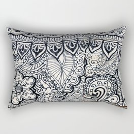 Four sides of a box (iii) Rectangular Pillow