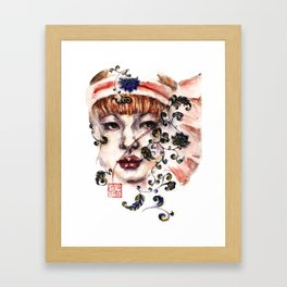 Japonica Framed Art Print