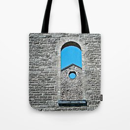 Through a Wall - The Peace Collection Tote Bag