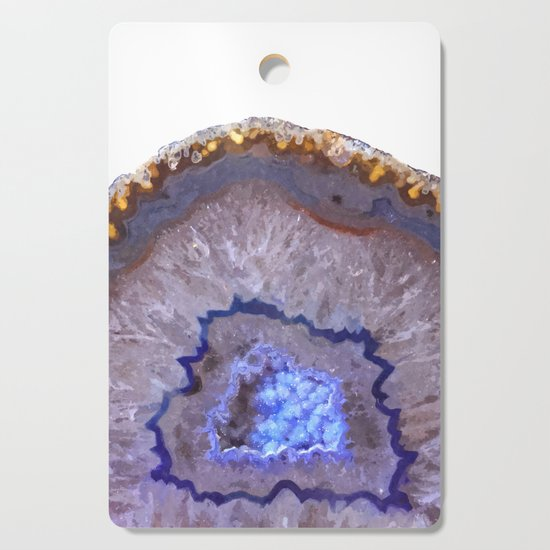 Druze dark blue agate by alemi
