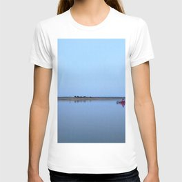 Watercolor Nightscape, Janes Island 01, Maryland T-shirt